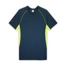 HENIS 時尚型男多片剪接運動短袖衫3件組 隨機取色