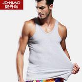男士背心男棉質質青年修身型透氣打底夏季運動健身跨欄背心