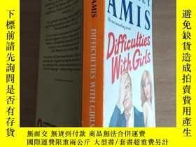 二手書博民逛書店KINGSLEY罕見AMIS Difficulties with girls 【實物圖片, 自鑒】Y8791