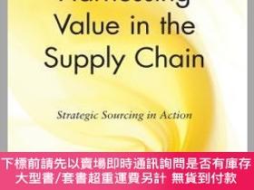二手書博民逛書店預訂Harnessing罕見Value In The Supply Chain: Strategic Sourci