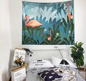 【TT】背景布 ins 掛布 掛毯 壁掛 北歐 風格 簡約 植物 主播 拍照 臥室 客廳 裝飾布