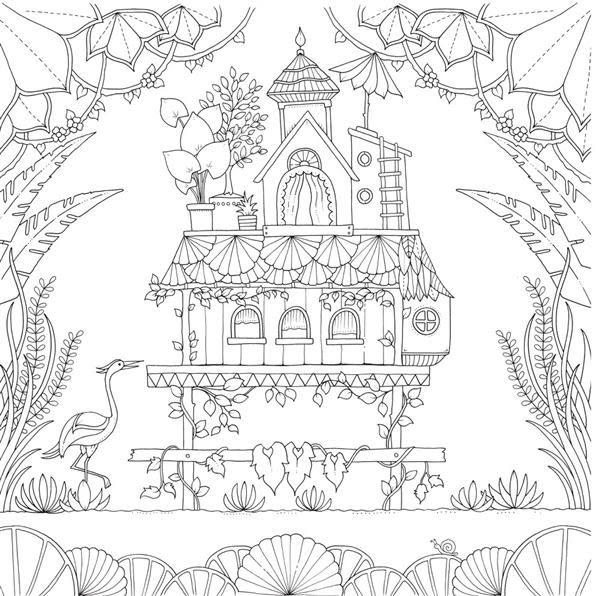 奇幻叢林(《秘密花園》第四集,作者簽名版)