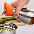 PUSH! 餐具廚房用品防漏密封調味罐醬油醋罐304不銹鋼油瓶 二入D60