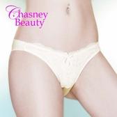 Chasney Beauty-Libre立體S刺繡蕾絲丁褲(牙白)