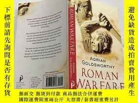 二手書博民逛書店Roman罕見Warfare 羅馬戰爭 英文原版 彩色插圖Y23