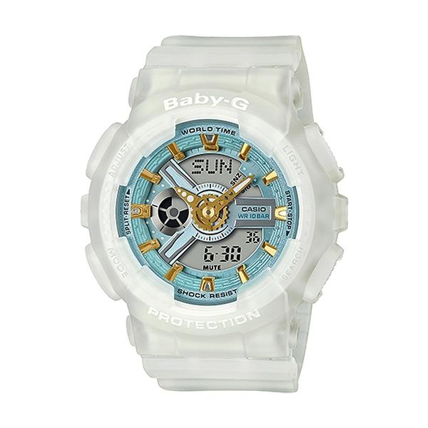 CASIO 卡西歐手錶專賣店 BABY-G BA-110SC-7A 可愛運動雙顯錶 LED照明 防水100米 BA-110SC