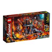 71717【LEGO 樂高積木】旋風忍者系列 Ninjago - 骷髏頭地牢冒險 (401pcs)