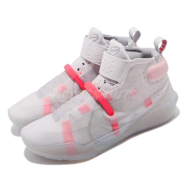 Nike 籃球鞋 Kobe AD NXT FF Vast Grey 灰 紅 高筒 React 鞋墊 運動鞋 男鞋【PUMP306】 CD0458-001