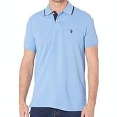 US Polo - 大馬合身Polo衫(海浪藍色)