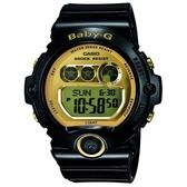 【CASIO】BABY-G 甜美時尚魅力造型錶-黑X金(BG-6901-1)
