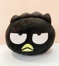 【震撼精品百貨】Bad Badtz-maru_酷企鵝~三麗鷗酷企鵝絨毛抱枕/靠墊-黑大頭#10356
