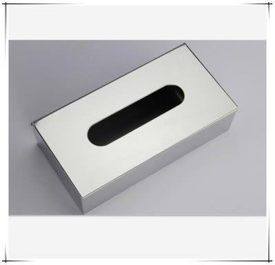 不銹鋼臺面紙巾盒 抽取式紙巾盒 【藍星居家】