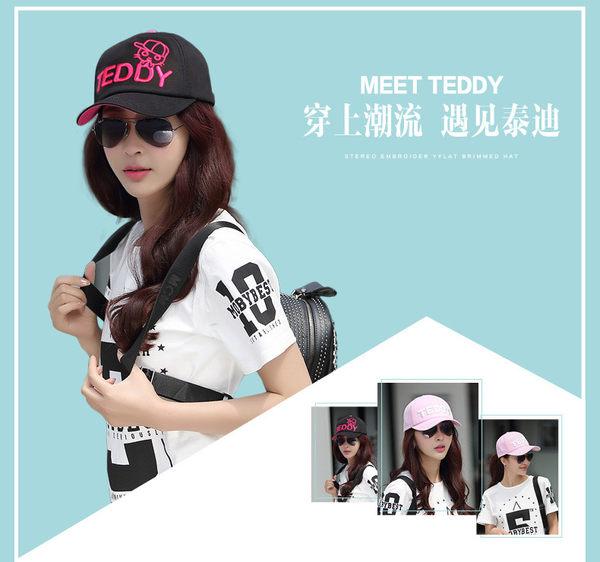 女夏季韓版潮騎車棒球帽 女戶外嘻哈鴨舌帽 遮陽帽 防曬帽 太陽帽