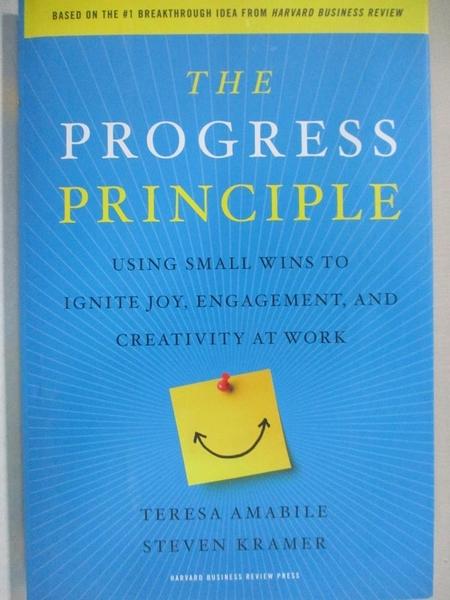 【書寶二手書T1/原文書_I5I】The Progress Principle: Using Small Wins to Ignite…
