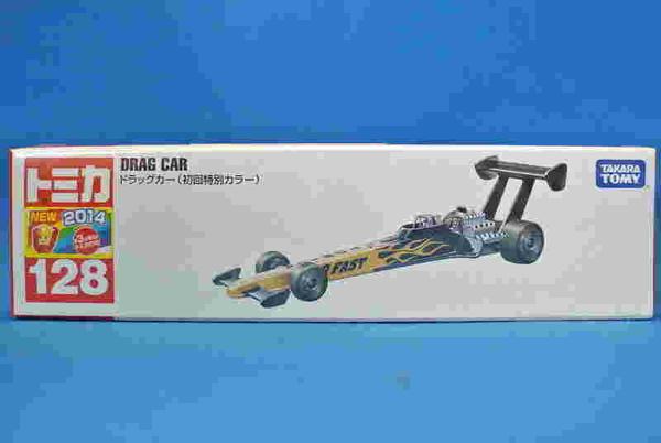 【震撼精品百貨】 TOMICA多美~ 超長型小汽車128 初回限定拖拉賽車 DRAG CAR(黑金色)#80549