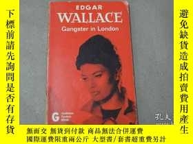 二手書博民逛書店Gangster罕見in LondonY179933 edgar