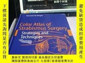 二手書博民逛書店Color罕見Atlas of Strabismus Surge