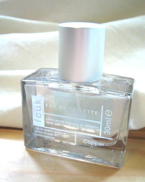 *禎的家* 英國雅痞 Fcuk 男士香水 限量小瓶裝 COPPER 30ml