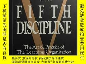 二手書博民逛書店THE罕見FIFTH DISCIPLINE:the art an