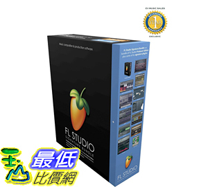 [106美國直購] Image Line FL Studio 12 Signature Edition Music Production Software B014QLLA48