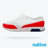 native 小童鞋 LENNOX 小雷諾鞋-貝殼白x火炬紅