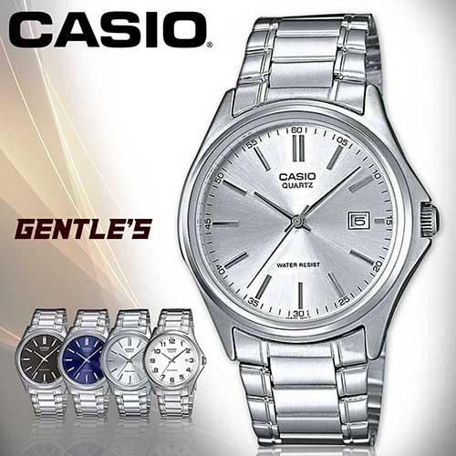 CASIO手錶專賣店 卡西歐  MTP-1183A-7A 男錶  簡約時尚指針 礦物防刮玻璃  不鏽鋼錶帶 銀
