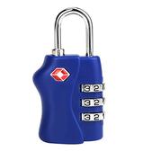 【AOU微笑旅行】CARANY系列 三碼式密碼鎖多功能用途設計(藍色58-0036)【威奇包仔通】