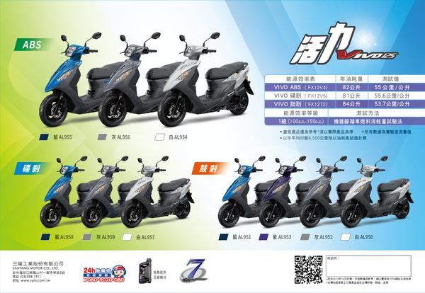 2020年 SYM 三陽機車 活力 VIVO 125 鼓煞 七期