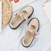 軟妹娃娃鞋女學生韓版百搭原宿英倫復古可愛小皮鞋 俏腳丫