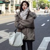超殺29折 韓國學院風短款大碼寬鬆顯瘦棉服單品長袖外套