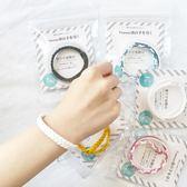 驅蚊手環女嬰兒童寶寶大人手工編織防蚊手環