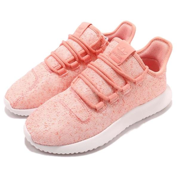 【四折特賣】adidas 休閒鞋 Tubular Shadow W 粉紅 白 小350 必備款 運動鞋 女鞋【ACS】 AQ1162