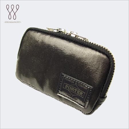 【最佳禮物】日標㊣PORTER吉田包㊣ SHINE 黑色亮面零錢包 581-07750-10 現+排單/免運!