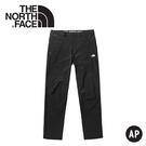 【The North Face 男 防風防潑軟殼長褲《黑》】3VTD/保暖長褲/防風長褲/休閒長褲