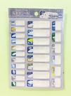 【震撼精品百貨】Shin Kan Sen 新幹線~三麗鷗新幹線姓名防水貼紙-C#14137