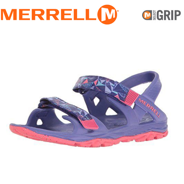 【MERRELL 美國 兒童 HYDRO DRIFT《紫/桃紅》】MY56495/兒童涼鞋/休閒鞋/運動健走鞋