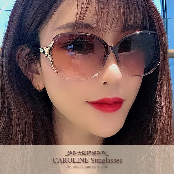 《Caroline》年度最新網紅款潮流百搭抗UV時尚太陽眼鏡 72088