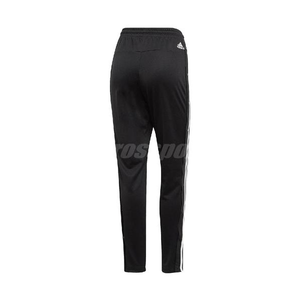 adidas 長褲 ID 3-Stripes Snap Pants 黑 白 女款 運動休閒 【ACS】 DZ8660