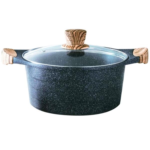 【HouseKeeper妙管家】壓鑄不沾萬用鍋28cm HKXB-28