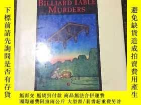 二手書博民逛書店THE罕見BILLIARD TABLE MURDERSY1992