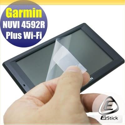 【Ezstick】GARMIN NUVI 4592R Plus Wi-Fi 專用 GPS導航LCD液晶螢幕貼(霧面)
