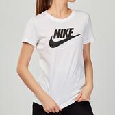 Nike AS W NSW TEE ESSNTL ICON FUTUR 女子 白色 基本款 短袖 BV6170-100