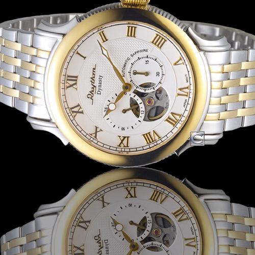 A1508S03  寶時鐘錶  麗聲錶 RHYTHM 霸氣尊爵機械錶