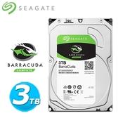 Seagate【BarraCuda】新梭魚 3TB 3.5吋桌上型硬碟 (ST3000DM007)