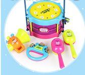 嬰兒手搖鈴玩具0-3-6-12個月新生幼兒益智男女孩8寶寶0-1歲牙膠【中秋節單品八折】