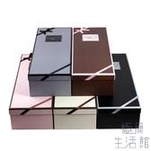 鮮花包裝盒長方形花盒玫瑰花包裝盒鮮花禮盒花束盒【極簡生活】