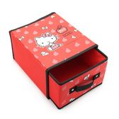 HELLO KITTY 單層收納盒 紅 321369 鞋全家福
