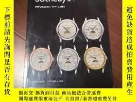 二手書博民逛書店蘇富比2006年罕見鐘錶手錶拍賣圖錄Y12597 蘇富比 蘇富比