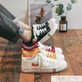 2019春季新款帆布鞋女學生韓版百搭原宿ulzzang港風板鞋ins潮布鞋 韓慕精品