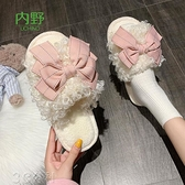 毛毛拖鞋女學生宿舍秋冬2021年新款外穿ins風拖鞋室內家居快速出貨